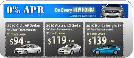 May Specials From Klein Honda Low Monthly Leases 0 Apr